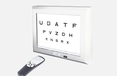 monitor optotypów