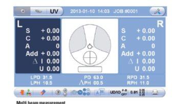 Dioptromierz Visionix VX35 egzemplarz DEMO full