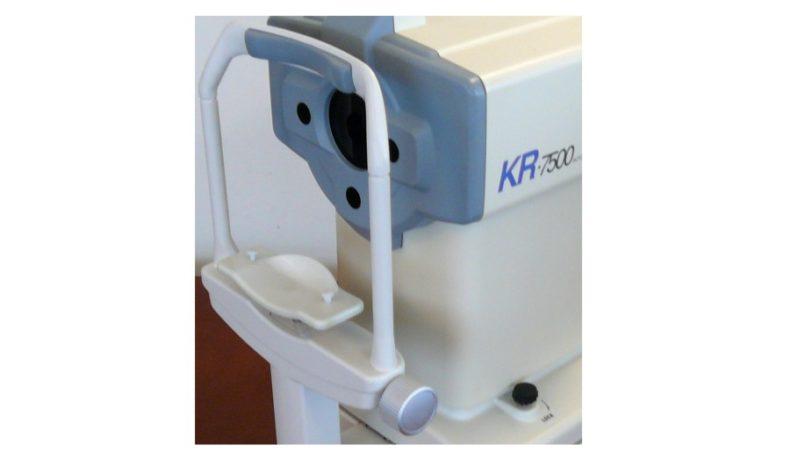 Autorefraktometr TOPCON KR-7500 z keratometrią full