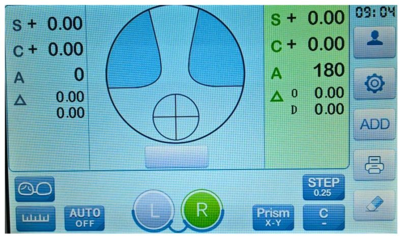 Dioptromierz elektroniczny TL-6500B full
