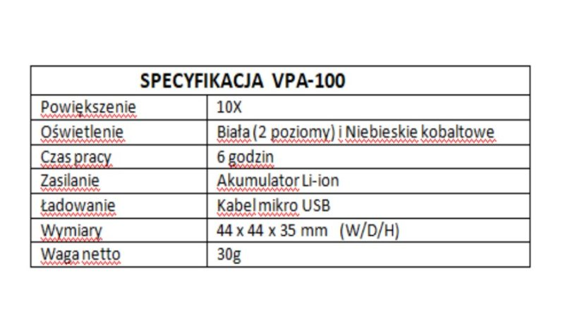 Adapter obrazowania oka do smartfona VPA-100 QuikVue full