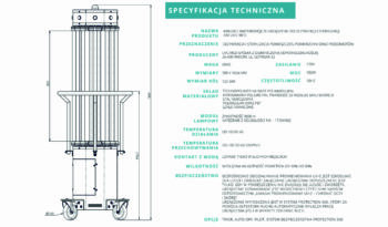 UVC-MED 950W TOWER MAX dezynfekcja sterylizacja full