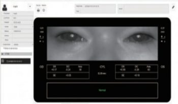 Autorefraktometr przenośny V100 Vision Screener full