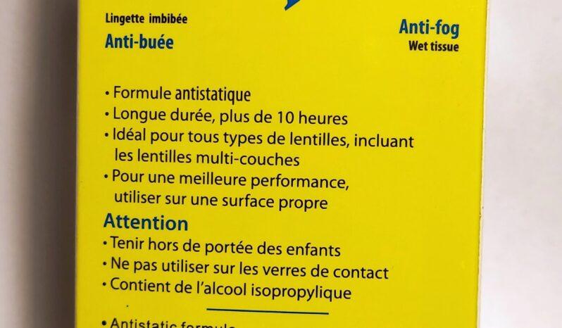 Chusteczki ANTI-FOG full