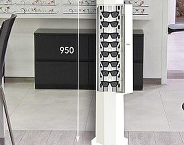 UVC-MED 110W TOWER MINI OPTI dezynfekcja sterylizacja full