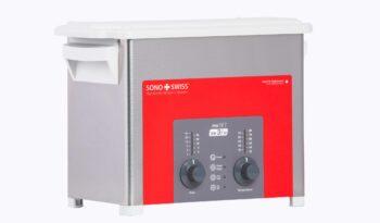 Myjka ultradźwiękowa SONOSWISS SW 3H preset full